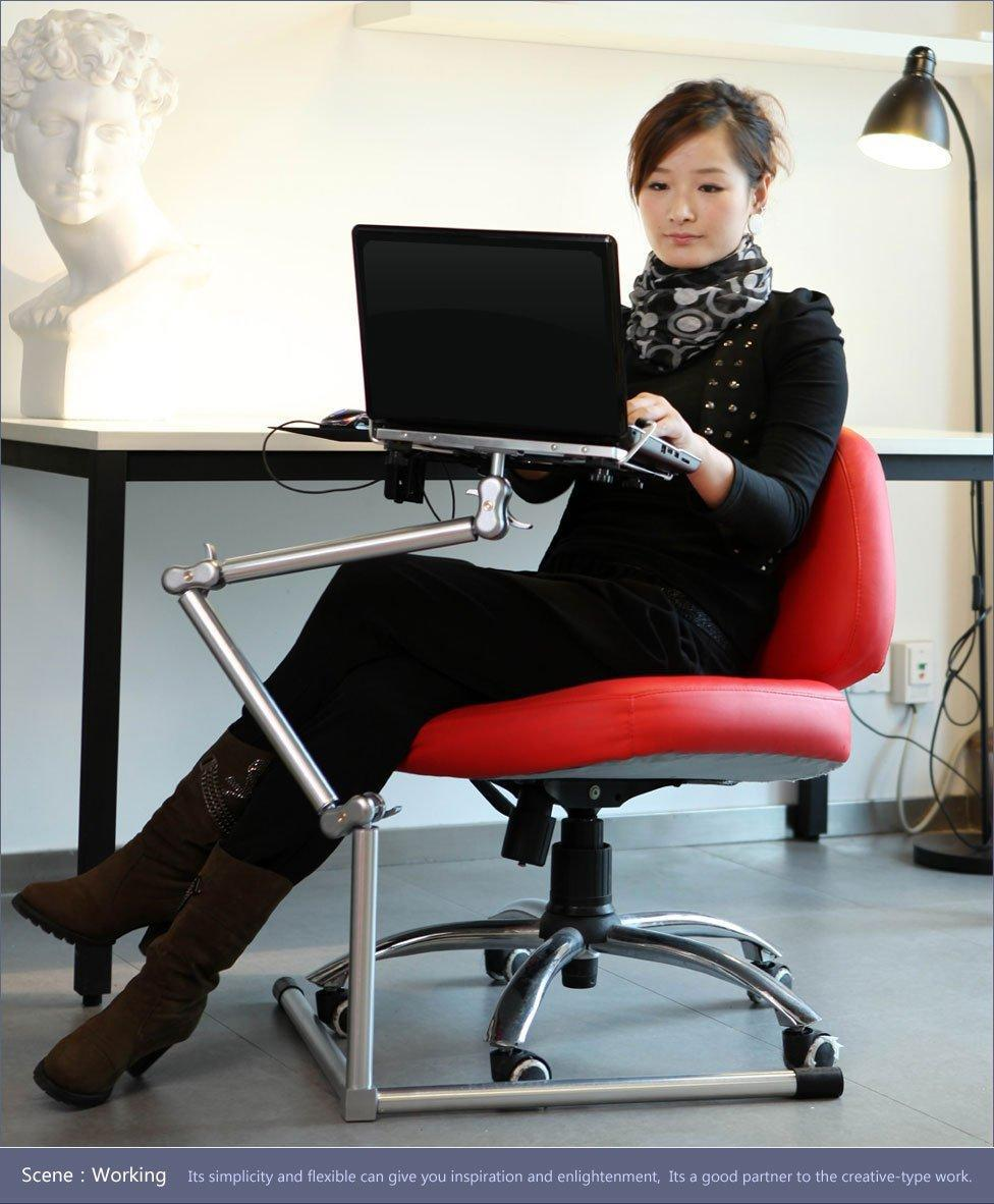 360 Degree Rotate Foldable Portable Laptop Table,Nottable The Versatile  Laptop Stand/computer Desk