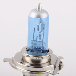Wholesale H4 12v - Car Bulbs H4 Crystal Vision Halogen Headlight Bulb 12V 60 55W 4300K 2pcs lot