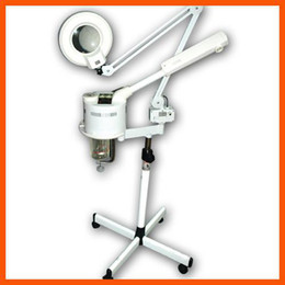 Wholesale Ozone Vaporizer - 2 in 1 Ozone Facial Steamer Magnifying Lamp Beauty Ozone Vaporizer + Magnifying Lamp cleaning