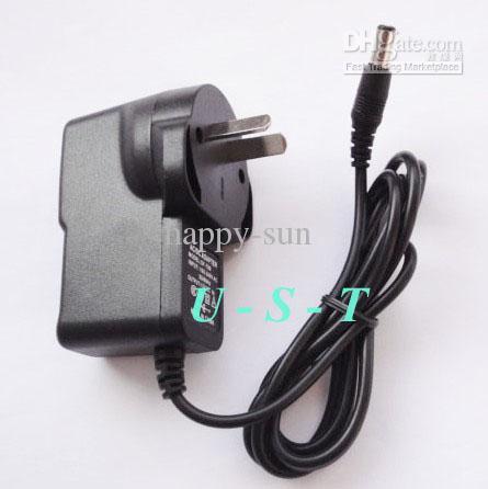 Высокое качество AC 100-240 В до DC 9 В 1A адаптер питания Австралия AU Plug 9 В адаптер 100 шт. Много бесплатная доставка DHL