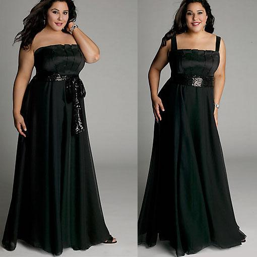 Plus Size Dress Long Strapless Black Gown Igigi Taffeta Bridal Gown