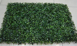 Wholesale Display Protect - HOT SELLING Artificial plastic boxwood mat 40cm*60cm Free shipping UV PROTECTED