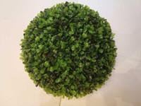 ingrosso palline da boxwood-uv PROTECT Palla in legno di bosso plastico 45cm Spedizione gratuita