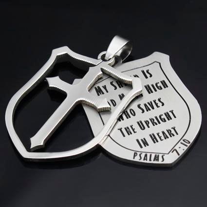 DHL Darmowy podwójny wisiorek, kształt tarczy Wyroby ze stali nierdzewnej, Ablaze, sprzedawaj jak gorące ciasta dla taty