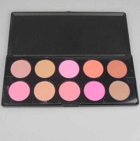 Professionale i Blusher Makeup Palatte Premuto Powder Blush Lampeggiante e Graceful Powder 1 pz / pacchetto