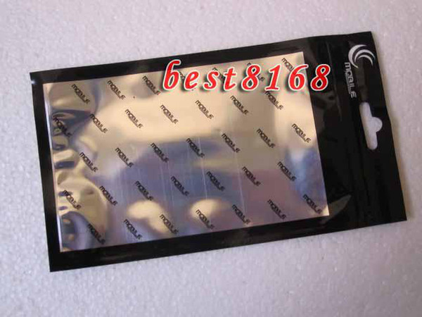 10 * 18 CM cremallera bolsa de plástico al por menor paquete de embalaje para Iphone SE 5 5S 3G 3GS 4G 4 4s 5ª bolsa de teléfono celular duro de PC suave cubierta de TPU Volver caso