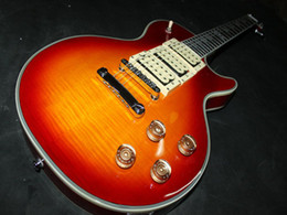 Wholesale Guitars Ace - New Custom shop Ace Frehley Electric Guitar DIY gutar Cherry burst VOS guitar in stock OEM GUITAR