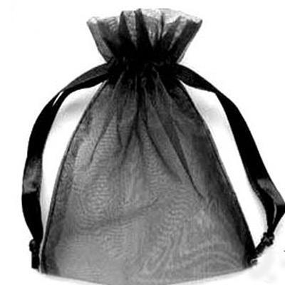 9X12cm 화이트 / 아이보리 Organza 선물 가방 웨딩 부탁 파티 9X12cm 파우치 또는 멀티 컬러