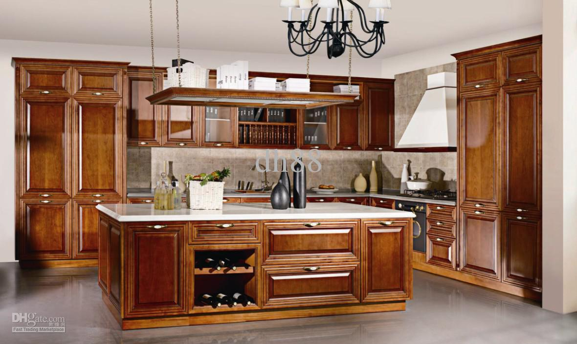 2018 Kitchen Design Service Wooden Kitchen 2 From Dh88 Dhgate Com