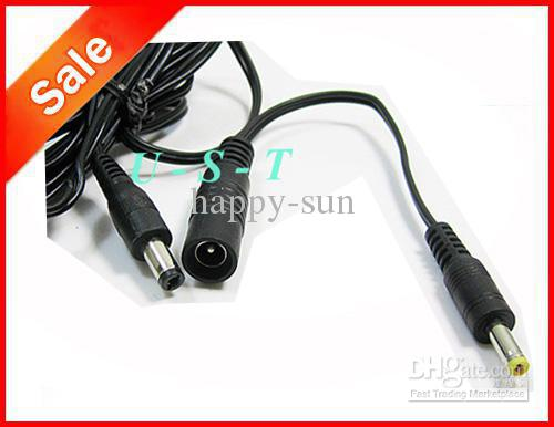 CCTV DC Power Adapter Cable 5.5mm x 2.1mm Female Jack Socket to 4.0mm x 1.7mm Male Conversion Plug Express
