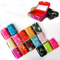 Wholesale Gorgeous Jewelry Boxes - 60PCS CHINESE GORGEOUS HANDMADE SILK LIPSTICK BOXES   Jewelry Boxes & Pouches