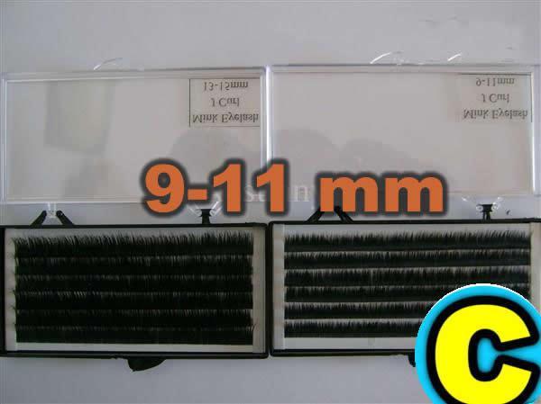 XCSUNNY 10 Box Individual 100% Real Mink Fur False Eyelash Extension Lashes Eyelashes IME002 Free Shipping