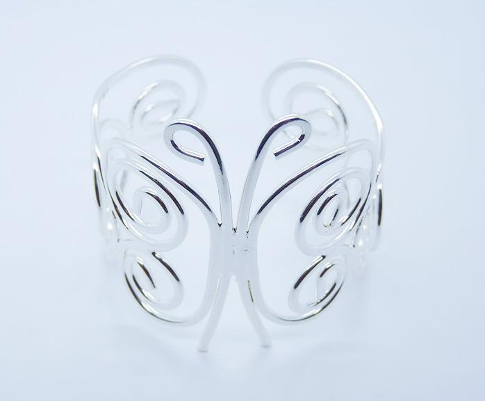 La nueva joyería de las mujeres de plata del estilo 925 ensancha el pun ¢ o abierto brazalete abierto de Bangle, puede ser estilos mezclados