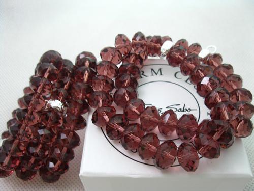 Mode smycken svart kristall pärlor armband pärlor armband passar julklapp 925 silvertm05