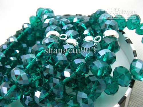Moda Biżuteria Czarny Kryształ Koraliki Bransoletka Koraliki Bransoletki Fit Boże Narodzenie Gift 925 SiverTM05