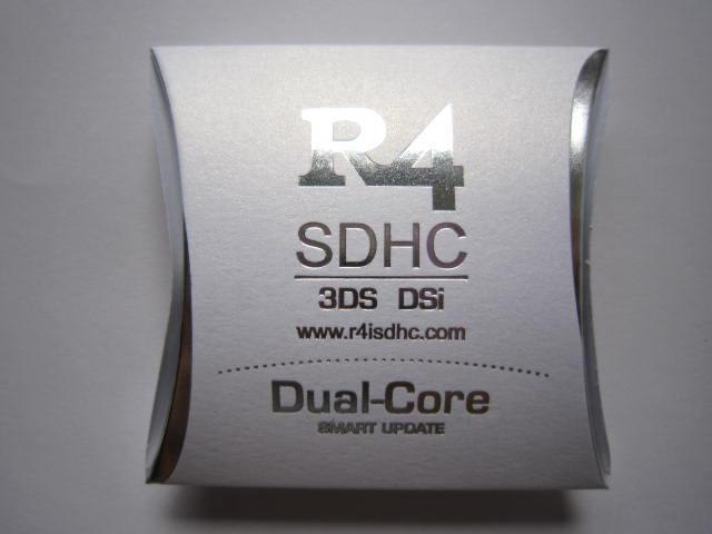 R4 SDHC 3DS DSi Dual-Core SMART UPDATE DS HAPPY BOX 10pcs hongkong post