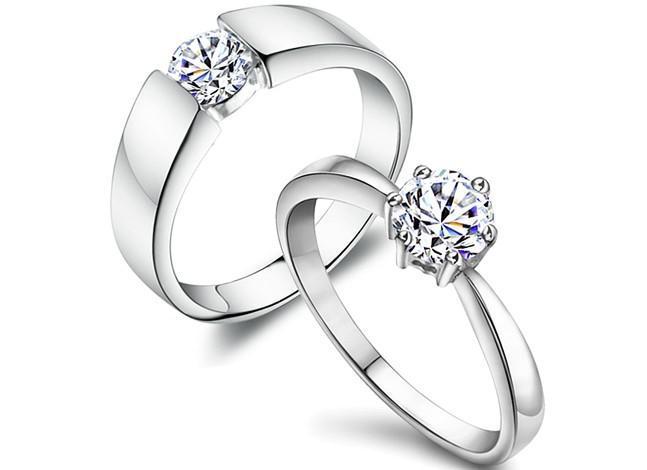 New Diamond Rings Wedding Rings Engagement Couples Rings Swiss
