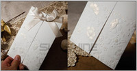 Wholesale Letter Style Wedding Invitation - wedding cards. invitation cards, W1113, Royal style wedding card, come with envelope,weddding gifts