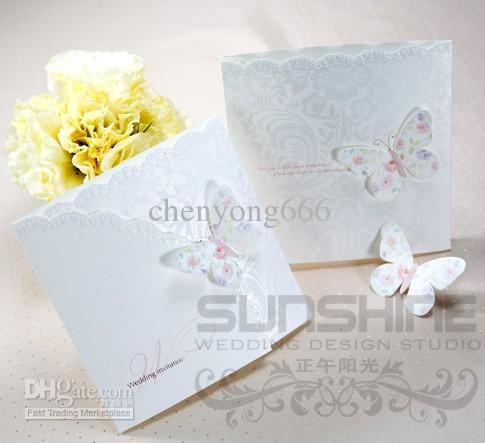 Wedding Cards Invitation Cards W1134 Butterfly Wedding Card – Butterfly Wedding Invitation Cards