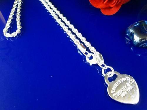 Collier chaîne de corde de 3 mm en argent 925 à petit prix