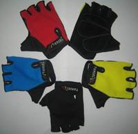 Cycle gloves Bike Half Finger cycling gloves riding gear bik...
