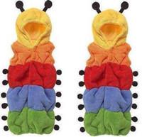 Wholesale Sleeping Bags Polar Fleece - 2pcs Polar fleece Costume baby sleeping bag - Baby caterpillar sleeping bags infant sleeping sacks