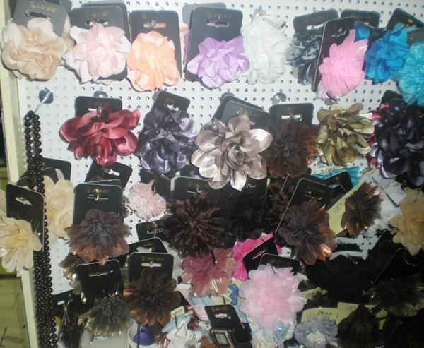 꽃 헤어 클립 브 로치 4 여자 아기 여자 핀 머리카락 accesory 30pcs / lot 근사한