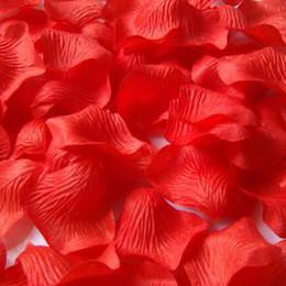 $enCountryForm.capitalKeyWord Australia - Sahua   hand thro Simulation of red rose petals wedding decoration items identified bed SIZE 5 * 5cm
