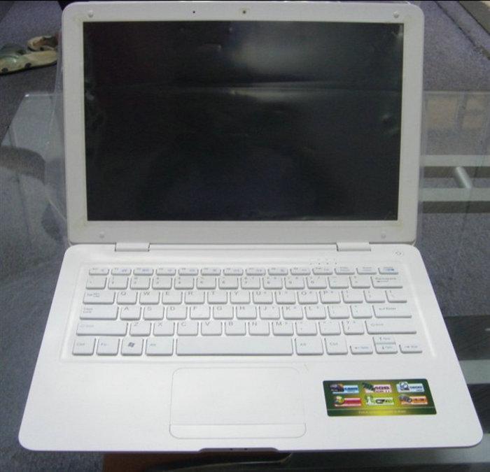 MacBook Air 13.3 inch Laptop Intel N455 1.67GHz 1G DDR3 250G WIFI 1.3 MP Camera notebook netbook