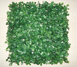 Wholesale Plastic Topiary - Artificial plastic boxwood mat topiary tree for garden,home ,wedding decoration