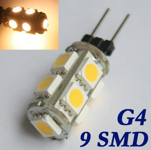 Car G4 G5 3 Mr16 Gy6 35 9 Led Smd 5050 Warm White Light