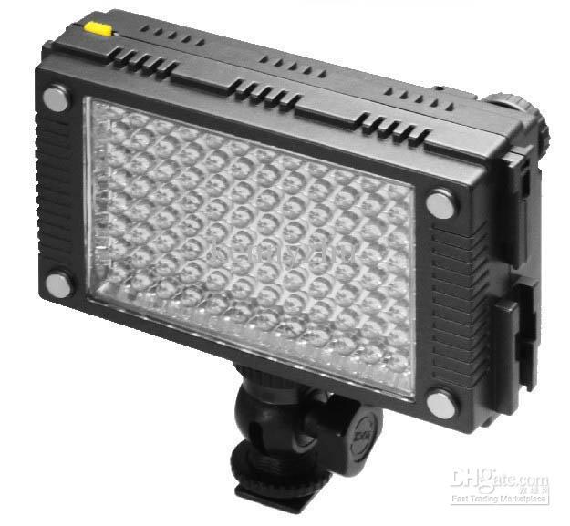 Vidieo Light Led Camera Lamp HDV-Z96 Z96 96-LED Bulb For Camcorder DV Video Camera 5600K 800Lux