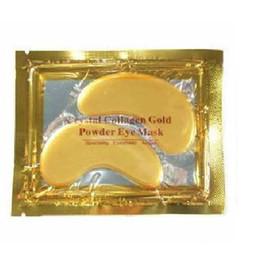 masque facial blanchissant hydratant au collagène Promotion Masque pour les yeux avec poudre de cristal au collagène et vente chaude