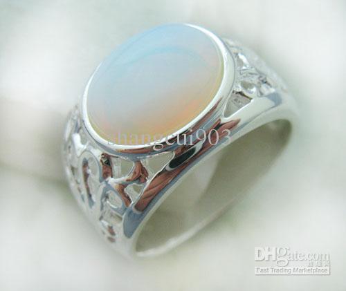 Luxury gemstone jewelry 925 Silver Amethyst Rings Round rings Size 8 Gems
