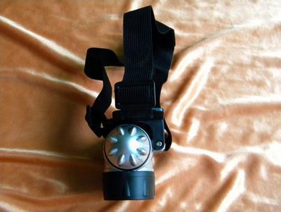Lámpara de minería 7LED Fábrica al por mayor lámpara de cabeza fuerte al aire libre lámpara de trabajo para camping lámpara de minero faro de pesca con cabeza multifunción