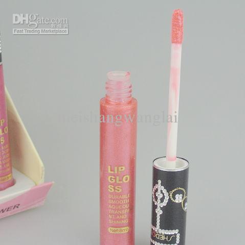 12 couleurs professionnel brillant à lèvres brillant à lèvres 8 ml / couleur 12 couleurs / paquet Maquillage Lipgloss 8065 #