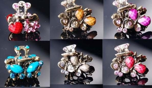Mix Style Hair Clip Barrettes For Women Girls Craft Fashion Jewelry Gift HJ08