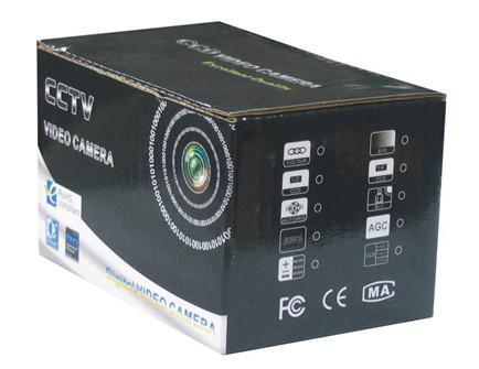Spedizione gratuita 520TVL Mini telecamera cctv 0,008Lux, angolo di visualizzazione 10 ~ 120 gradi MC495A - con audio