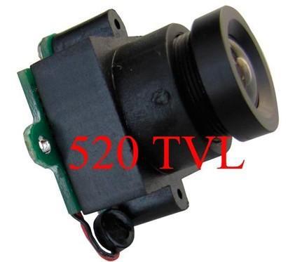 Spedizione gratuita 520TVL Mini telecamera cctv (0,008Lux, angolo di visualizzazione 10 ~ 120 gradi) MC495A - con audio