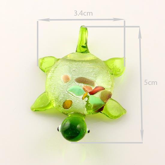 черепаха ленты фольги лэмпворк кулон венецианского муранского стекла подвески ожерелья и серьги ювелирные изделия Mus004 дешевые китайские ювелирные изделия