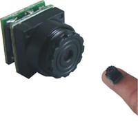 Wholesale Cctv Small Camera - Free shipping the smallest Mini cctv camera in the world 9.5X9.5X12mm;520TVL;0.008lux