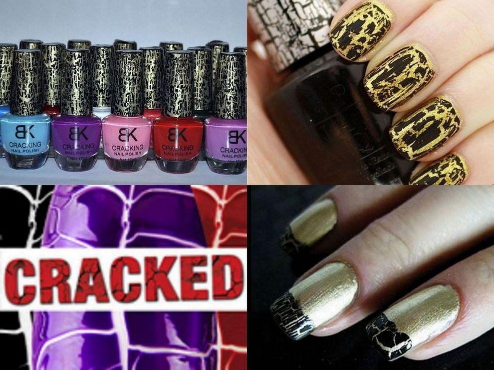 Crack Nail Polish Cracked Nail Art Cracking Comparable Opi Instant