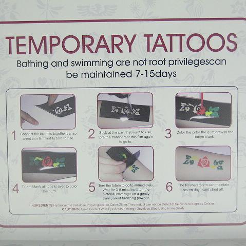 바디 페인팅 아트 문신 디럭스 키트 반짝이 문신 키트 문신 응축 액상 12 색 TCLG12