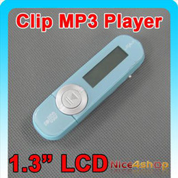 Wholesale Sky Blue Mp3 - 2011 sky Blue Digital MP3 Music Player with LCD Screen