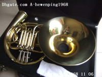 Wholesale French Horn Double - New Arrival Conn 8D double french horn with case