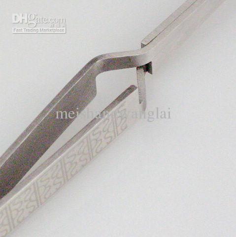Nail Art Tool TWEEZER Roestvrij staal 10 stks / zak Nail Art Rhinestone Nipper Clipper Picking F Manicure