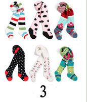 Wholesale Yuelinfs Pants - YUELINFS pantistocking!7 groups pantyhose Baby Leggings leg warmers stockings,tights pants Socks legging for baby toddlers infants