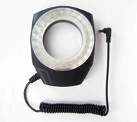 Wholesale Close Up 55mm - Macro Led Ring Light 48 For Close-up Shot 49mm 52mm 55mm 58mm 62mm 67mm Rings For Different Lens