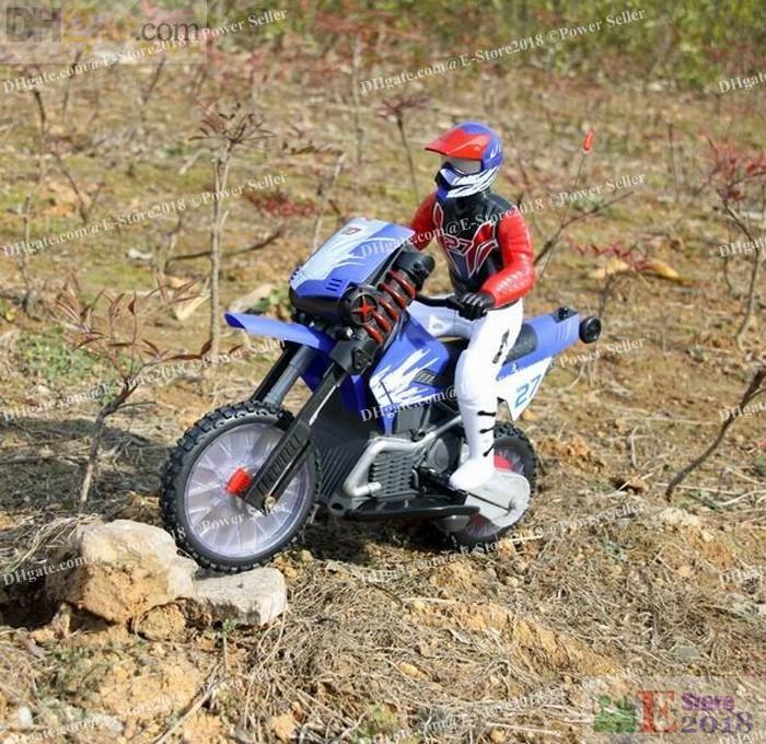 Rc Bike Moto Cross Multi Stunt Motor Radio Remote Control ...
