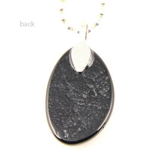 049 Sanat sigortalı gözyaşı dichroic folyo murano cam kolye kolye takı el yapımı ucuz moda jewlry Mup049 için